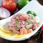 Receita: Ceviche de peixe branco do Chef Viana!