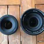 Novas lentes para máquina fotografica