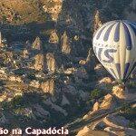 De balão na Capadócia!