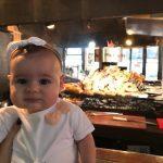 Alimentação de bebê em viagens