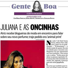O Globo – Coluna Gente Boa | Dezembro 2013
