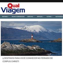 Site Qual Viagem | Maio 2016