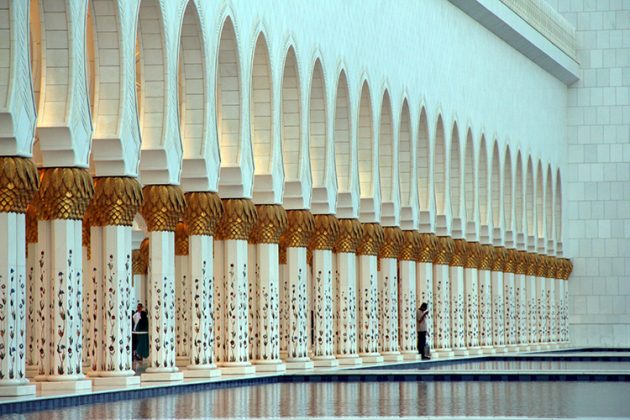 mesquita sheik zayed abu dhabi