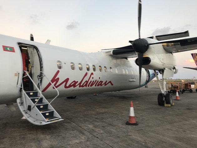 como chegar maldivas