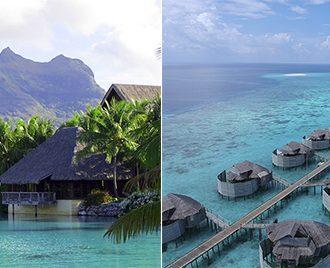 Maldivas ou Bora Bora?