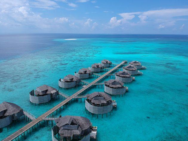 bangalô overwater maldiva