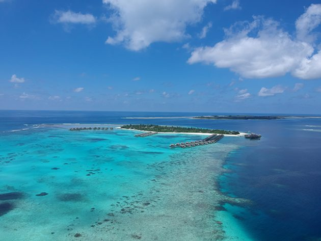 maldivas ou bora bora
