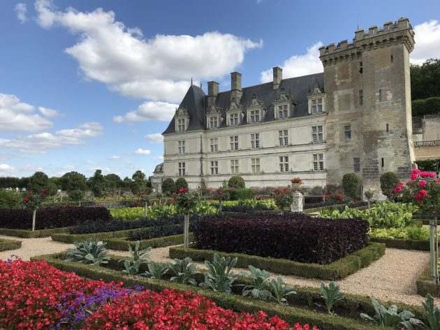 jardins do castelo Villandry