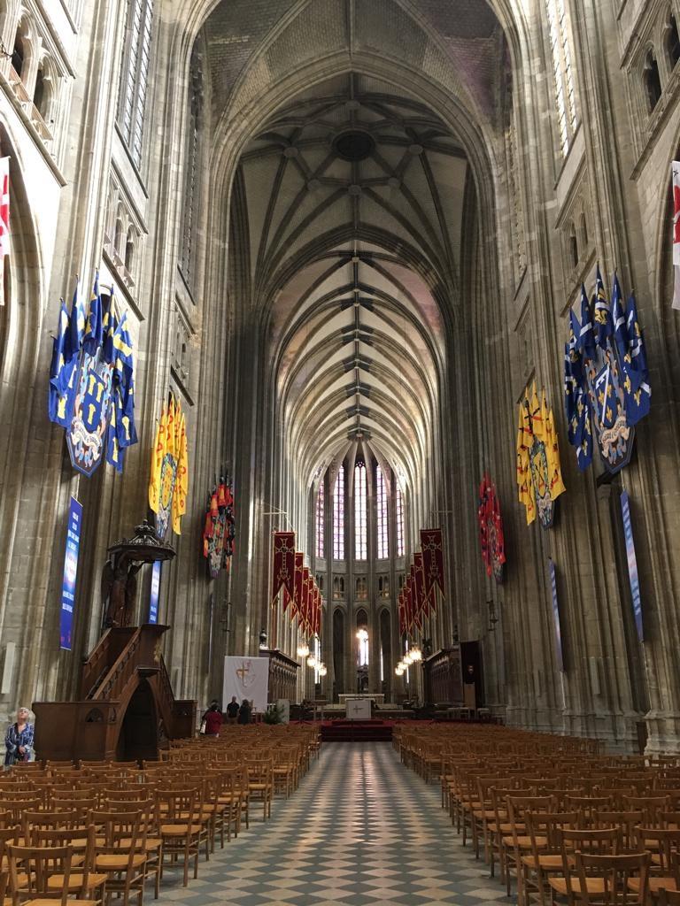 Interior da Catedral de Orleans