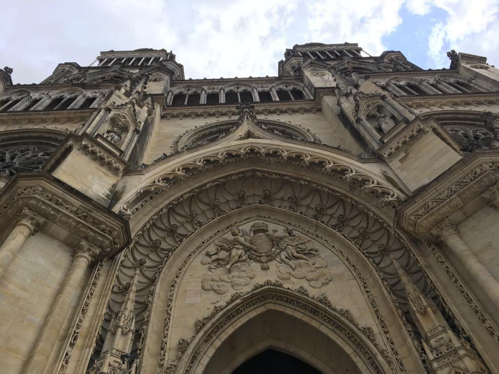 Fachada catedral de Orleans