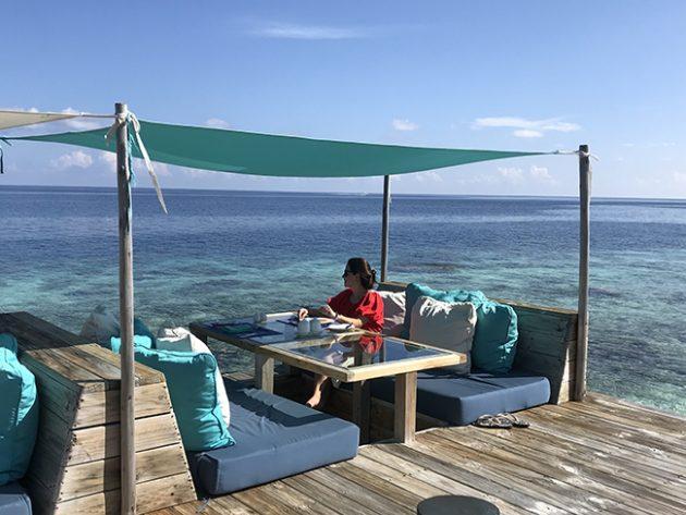 longitude restaurante six senses laamu maldivas
