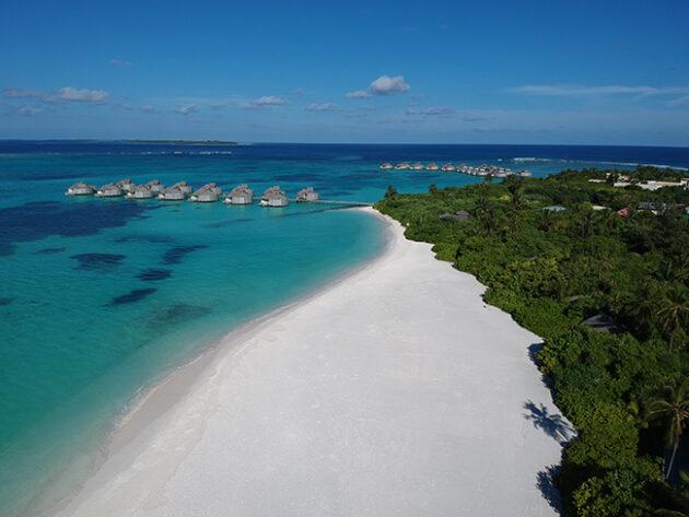 maldivas com criança six senses laamu